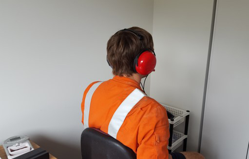Hearing test Timaru Occupational Health Services